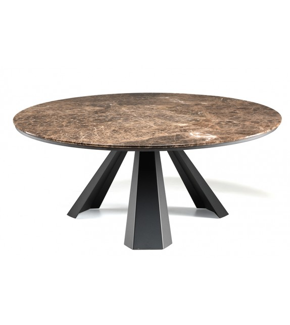 Eliot Round - Dining Table by Cattelan Italia