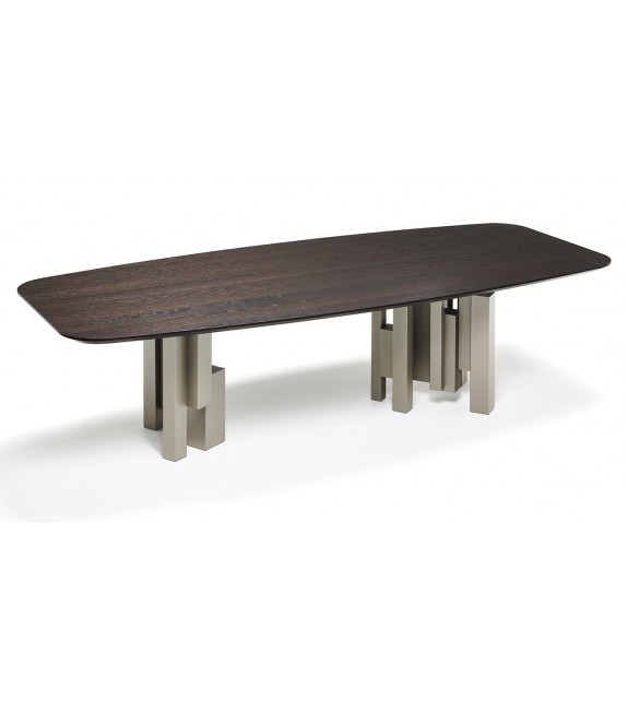 Skyline Wood - Dining Table by Cattelan Italia