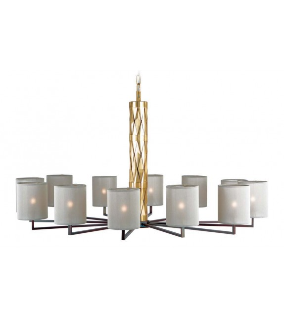 Flaire – Chandelier by Officina Luce